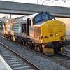 37419 2030/0z37 Crewe-Willesden passes Milton Keynes  15/07/15.