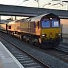 66119 2032/6o38 Halewood-Southampton passes Milton Keynes  15/07/15.
