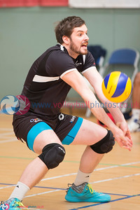 Glasgow Life International Volleyball, Scotland Select 3 vs 1 Team Northumbria (25-19, 21-25, 25-18, 25-23) , Holyrood Sports Centre, 24 May 2015.  © Lynne Marshall