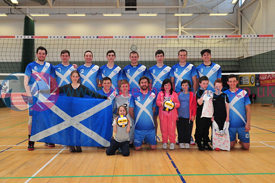 Glasgow Life International Volleyball, Scotland vs England Select, Holyrood Sports Centre, 23 May 2015.  © Lynne Marshall