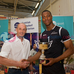Glasgow Life International Volleyball, Scotland 1 vs 3 England Select (25-18, 18-25, 13-25, 19-25), Holyrood Sports Centre, 23 May 2015.  © Lynne Marshall