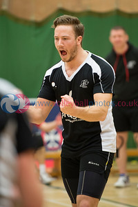 Scottish Volleyball Association Cup Semi Finals, Edinburgh University Centre for Sport and Exercise, Edinburgh.