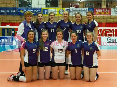 Women's Junior Super Cup, Lanarkshire Ragazzi 0 v 2 Marr College (21,12), University of Edinburgh, Centre for Sport and Exercise, 19 April 2015.   © Lynne Marshall