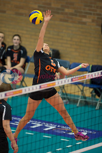 Women's Thistle Bowl Final, Edinburgh University 2 v 3 QTS Kyle Team Ayrshire (25-23, 20-25, 25-23, 13-25, 9-15), University of Edinburgh, Centre for Sport and Exercise, 18 April 2015.  © Lynne Marshall