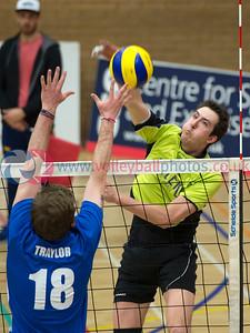 Playoff Semi Finals, City of Edinburgh v Glasgow Mets,  University of Edinburgh, Centre for Sport and Exercise, Edinburgh.