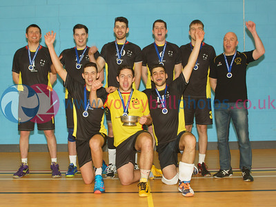 South Ayrshire, Men's Scottish National League Division 1 Champions, Mearns Academy, Laurencekirk, Scotland, Sat 28th Mar 2015