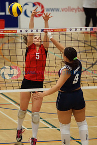 Scottish National League Women's Div 1 Playoff Final, CoE 3 v 1 Su Ragazzi W1 (25-12, 19-25, 25-20, 27-25), University of Edinburgh, Centre for Sport and Exercise, Sun 12th April 2015.