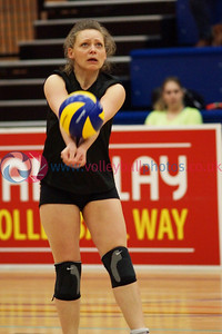 Scottish National League, Women's Div 1/2 Playoff Final, NLVC 2 v 3 NUVOC (18-25, 26-24, 15-25, 26-24, 8-15), University of Edinburgh, Centre for Sport and Exercise, Sun 12th April 2015.