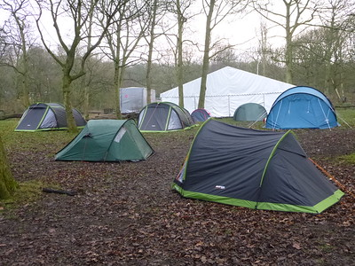 Scouts Winter Camp