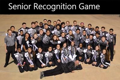 20151029 Senior Recognition Game
