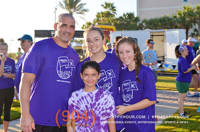 Purple Stride 5K @ Jacksonville Beach - 9.26.15