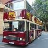 Big Bus Tours Dennis Dragon G938FVX near London Victoria.