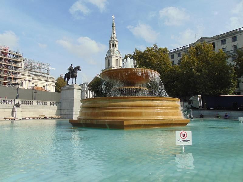London's Trafalgar Square.