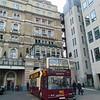 Big Bus London East Lancs Dennis Trident LV51YCJ DA5 at Charing Cross station.