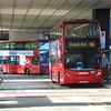 Metroline ADL Enviro 400 LK55KKP TE681 at London Euston on the 91 to Crouch End.