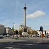 Nelson's Column and Trafalgar Square.