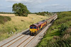 23 September 2015 :: 66086 heads 6C48 from Appleford to Westbury past Bourton