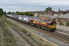 4 September 2015 :: Taken from Campbell Road bridge at Eastleigh we see 66120 on 6M66 from Southampton to Garston