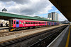 """1 September 2015 :: A closer look at 153325 in its """"citizensrail.org"""" livery as it stands at Cardiff Central"""
