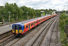 4 September 2015 :: Class 455, No 5901 is passing Millbrook on 5B39 from Wimbledon to Bournemouth