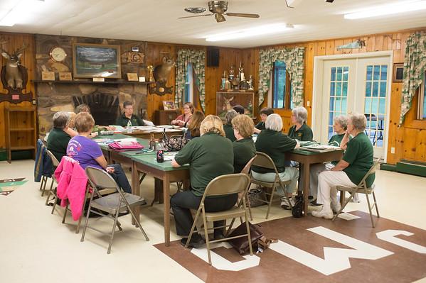 JOED VIERA/STAFF PHOTOGRAPHER-Wilson, NY- The Wilson Conservation Auxiliary Club meet.