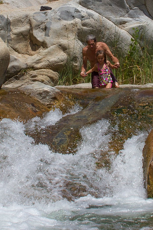 Tule River swimming hole