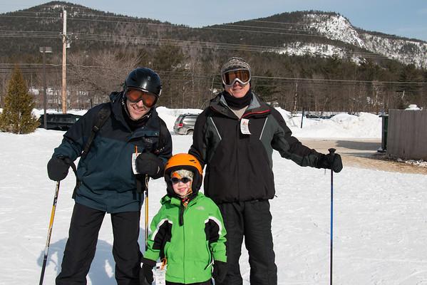 Skiing at Attitash 2015