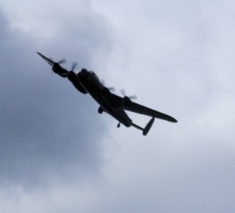 The Lancaster came to visit us