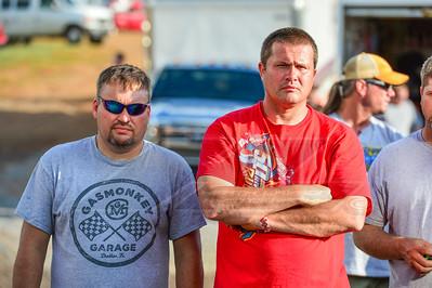 Randy Weaver (L) and Eddie Carrier, Jr. (R)