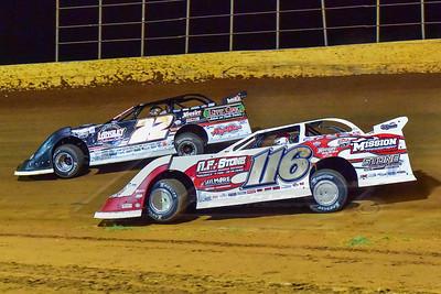 Randy Weaver (116) and Chris Ferguson (22)