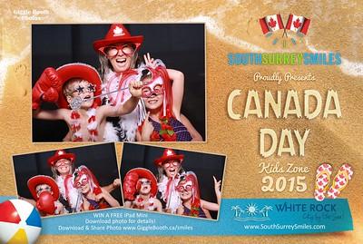 South Surrey Smiles - White Rock Canada Day Celebration 2015