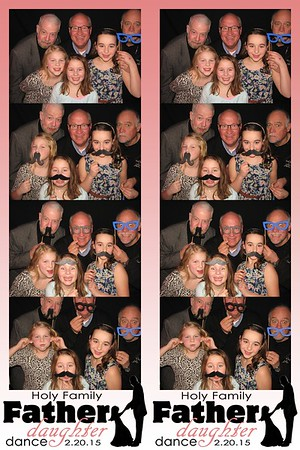 Holy Family Father Daughter Dance February 20, 2015