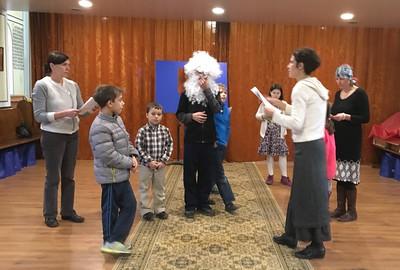 St. Nicholas Play Rehearsal