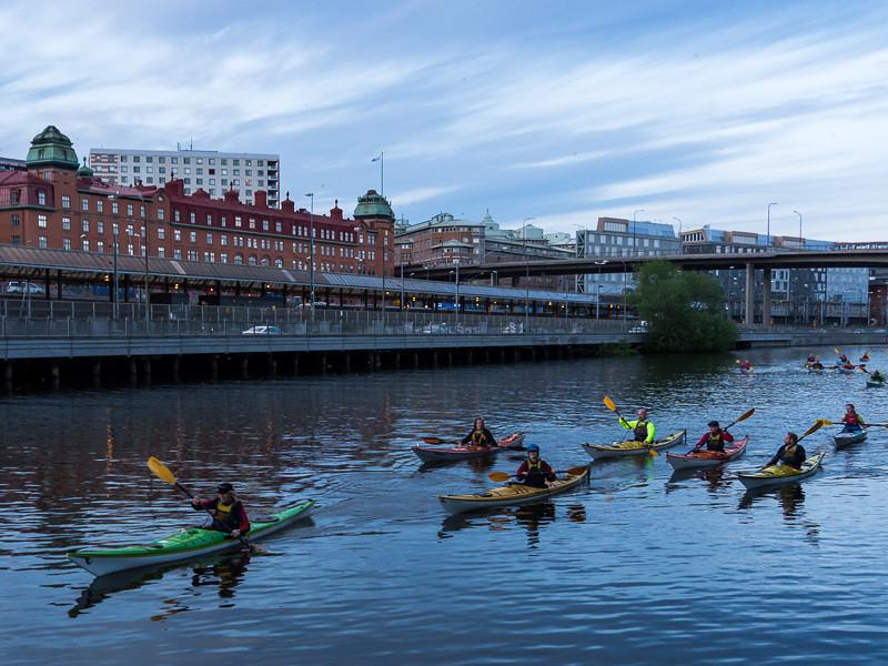 Förbi Stockholm vattens lokaler