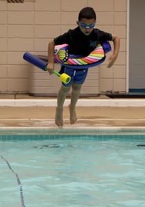 Magnus taking a jump