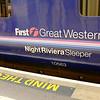 The Night Riviera at track one in Paddington.