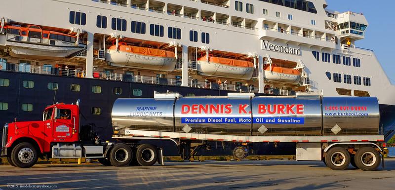 Fueling the Veendam