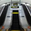 Leaving the Marylebone tube station on the Bakerloo Line.