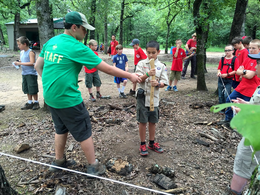 2015 Summer Camp at Slippery Falls
