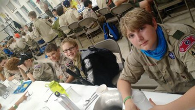 2015 Summer Camp at Slippery Falls