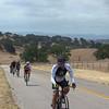 Steve flying up Foxen hill