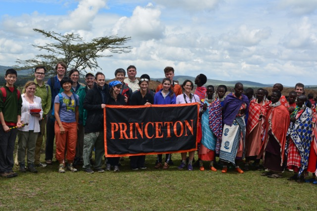 Princetonians at Olduvai Gorge - Mace Hack '86