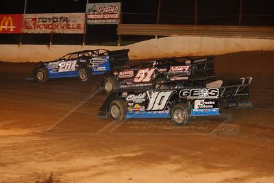 Chad Ogle (10), Mack McCarter (51) and Billy Ogle, Jr. (201)