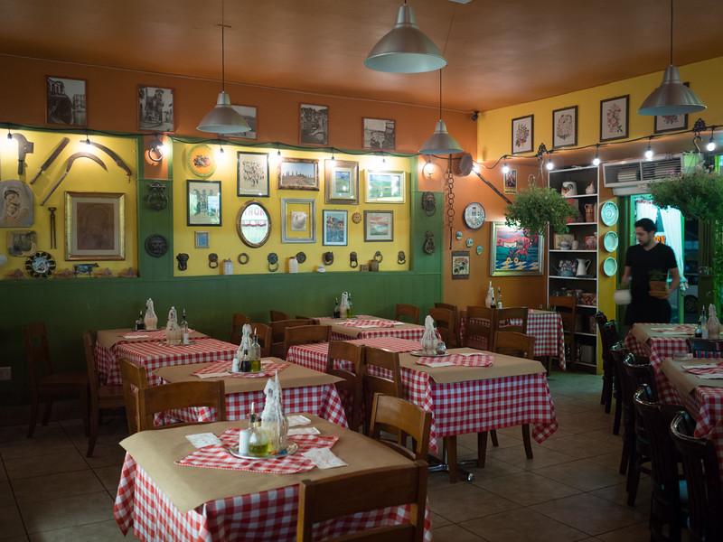 Closing time at La Pergoletta