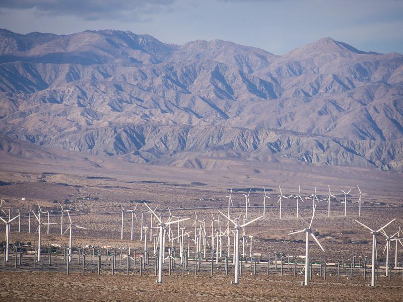WIndfarm near Palm Springs