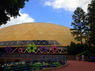 The Golden-Domed Festival Center at the 2015 Epcot International Flower and Garden Festival