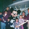 Meeting Steamboat Willie With my Grandparents in 1996