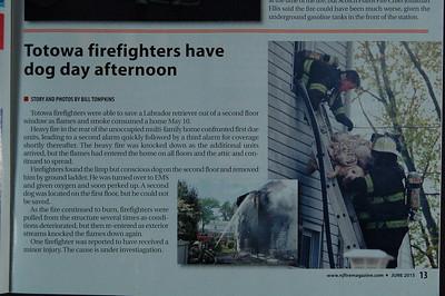 New Jersey Fire Magazine - June 2015