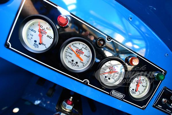Don O'Neal's gauge panel