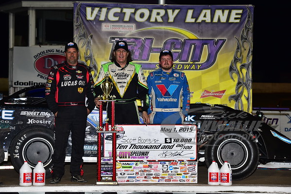 Earl Pearson, Jr., Scott Bloomquist and Brandon Sheppard